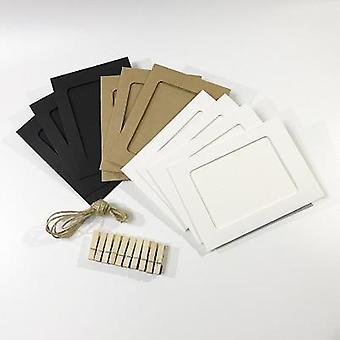 100 Pockets 6 tuuman valokuva-albumin kuvantallennuskehys