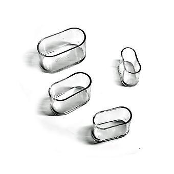 Oval Stuhl Leg Caps Füße Protector Pads/Möbel Tisch Abdeckungen Socken Staub Abdeckung