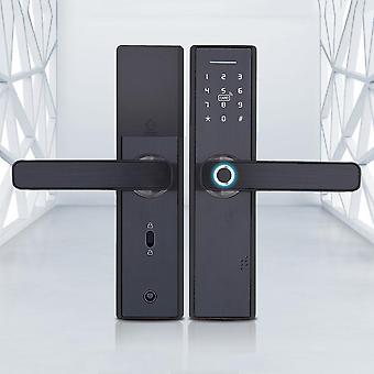البيومترية الذكية قفل البصمات الذكية قفل ذكي مع واي فاي APP كلمة السر RFID فتح
