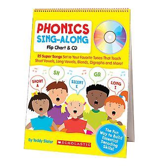 Phonics Sing-Along Flip Chart & Cd
