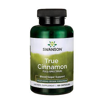 True Cinnamon Full Spectrum 120 capsules