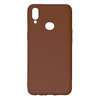 Ultra-Slim Case compatible with Samsung Galaxy A10S | In Brown