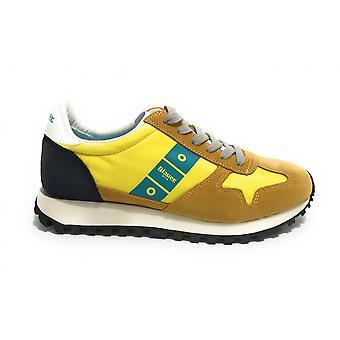 Blauer Sneaker Running Dawson Suede/ Yellow Men's Fabric Us21bu06