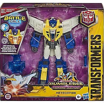 Transformers Cyberverse Battle Call Trooper Meteorfire Figure