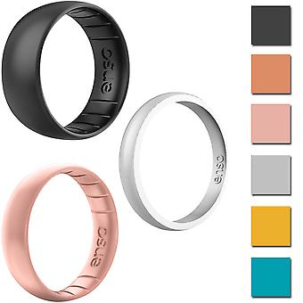 Enso Rings Elements Series Silicone Ring - ¡Disponible en Classic, Thin o Halo!