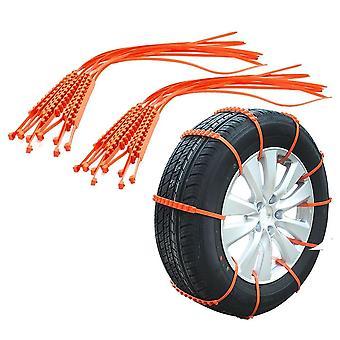 Autoband antislip riem anti-slip zip grip strip toe te voegen tractie sneeuw ijs modder preventie