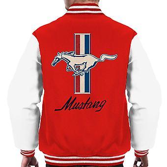 Ford Mustang Horse Men's Varsity Jacket