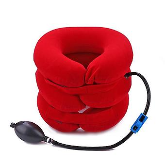 Soft U Neck Pillow Air Inflatable Pillow Neck Shoulder Pain Relax Device