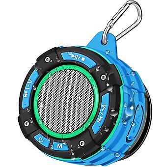 Bluetooth Tragbarer Dusche Lautsprecher, BassPal IPX7 Wasserdichter Bluetooth Lautsprecher mit