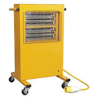Sealey Irc153110V infraröd skåp värmare 1.5/3Kw 110V