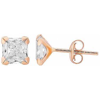 Mark Milton Stud Earrings - Rose Gold