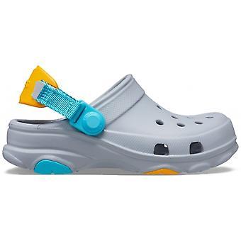 Crocs 207011 Classic All-terrain Kids Clogs Light Grey