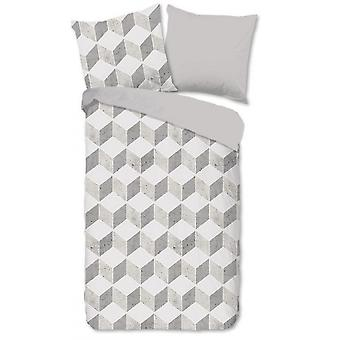 cubierta Arnold 135x200 cm gris algodón