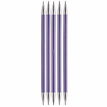 Knitpro Zing: Knitting Pins: Double-Ended: Set of Five: 15cm x 7.00mm