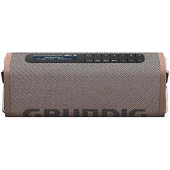 GBT Band Coffee - Bluetooth Lautsprecher mit DAB+ und UKW Radio, 30 Meter Reichweite, mehr als 8