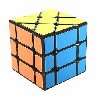 Set Of 3 Pack Magic Cube Fisher+wheel+axis Special Shape Speed Cube