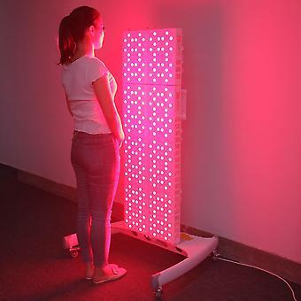Piros fény terápia time távirányítóval, százszorszép lánccal és érintőgombos bőrrel
