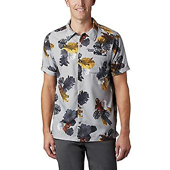 Columbia Outdoor Elements - Men's Short Sleeve T-shirt, Men's T-shirt, 1884891, Columbia Grey T, L