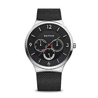 BERING Analoog Horloge Quartz Man met Roestvrijstalen Band 33441-102