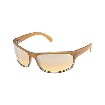 Police Spectrum 1 Sonnenbrille, Männlich, Beige (SEMI MATT TRANSPARENT MILKY HONEY FRAME/PALE YELLOW MIRROR LENS), Einheitsgröße