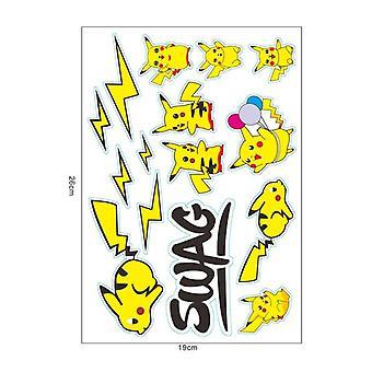 Säilytyspussi, Pikachu Action Figure Laukut, Party Decor, Lasten syntymäpäivä joulu