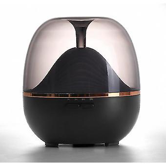 Musta 600ml aromi diffuuseri ilmankostutin viileä sumu valmistaja laite led-lamppu az9675