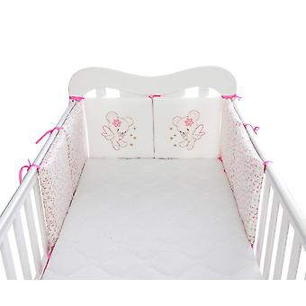 Детская кровать Утолщающие бамперы Цельная кроватка вокруг подушки Детская кроватка Протектор Подушки