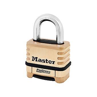 Master Lock ProSeries Brass Candado de 4 Dígitos 57mm MLK1175D