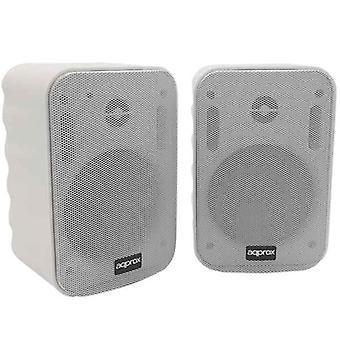 Haut-parleurs environ! appSPKBT Bluetooth 40 W Blanc