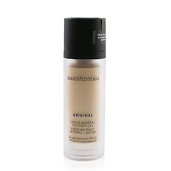 Originele vloeibare minerale foundation spf 20 # 01 fair (voor een zeer eerlijke koele huid met een roze tint) 251183 30ml/1oz