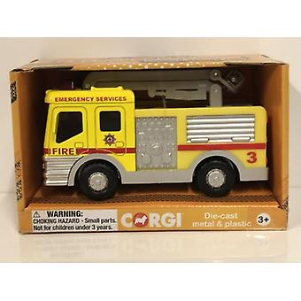 Corgi CHUNKIES CH033 Airport Fire Crane Snorkel U.K.Diecast and Plastic Toy