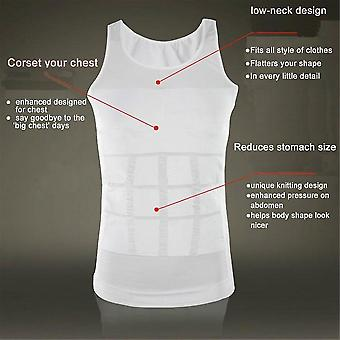 Men Body Slimming Burtica Shaper Belly Lenjerie Shapewear Talie Girdle Shirt