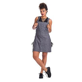 Banned Creepy Spider Dungaree Dress