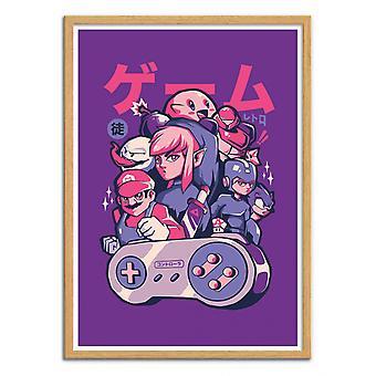 Art-Poster - Retro Gang - EduEly