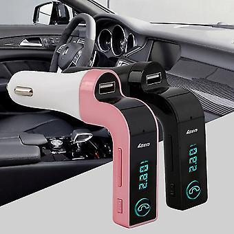 Drahtlose Freisprecheinrichtung Bluetooth Fm Sender Modulator Car Kit Mp3 Player Usb