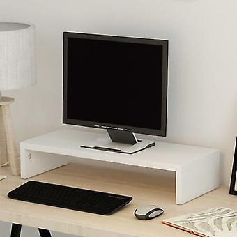 """vidaXL טלוויזיה ארון שבבים 60 x 23.5 x 12 ס""""מ לבן"""