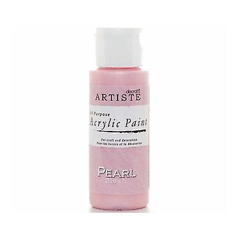 Pearl Blush docrafts Artiste All Purpose Acrylique Craft Paint - 59ml