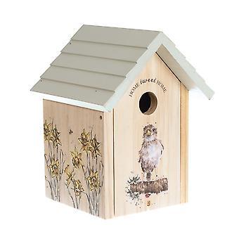 Wrendale Designs Decorative 'Home Tweet Home' Sparrow Bird House