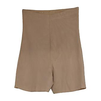 Women's Shaper High Waisted Shaping Shorts Beige Shapewear