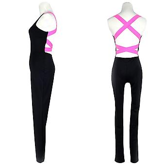 Yoga set sport clothing backless sport suit workout tracksuit for women