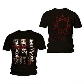 Slipknot Mezzotint Decay Mens Svart T Skjorte: Stor