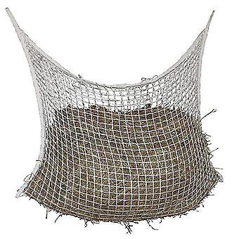 Hestefoder hø netto taske langsom hest feeder hele dagen fodring store med små huller