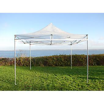 Vouwtent/Easy up tent FleXtents Xtreme 50 3x3m Doorzichtig