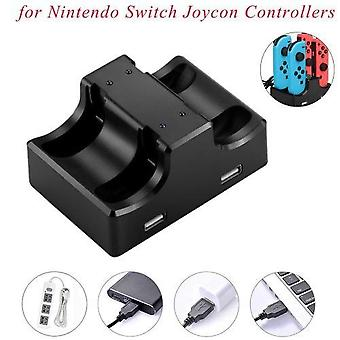 Suitable For Nintendo Switch Controllers 4 In 1 Charging Station Stand