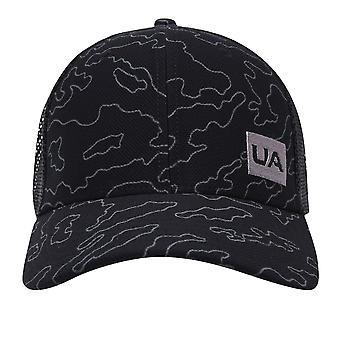 Under Armour Mens Blitzing Trucker Cap 5 Panel Curved Peak Hat Accesorio