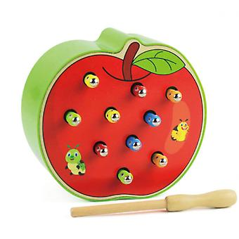 3d Educational Toys For Toddlers, Insect Catching Game, Strawberry/apple