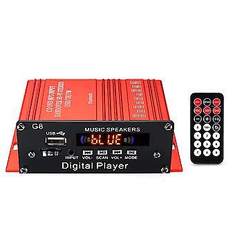 12v 200w 2ch Mini Digitale Bluetooth Hifi Audio Eindversterker