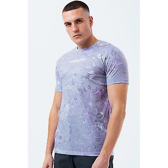 Hype Herren Marmor T-Shirt