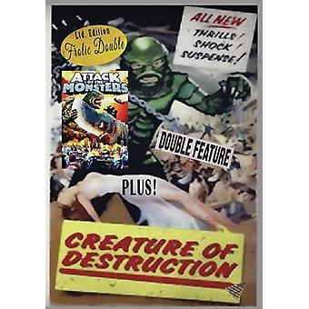 Attack of the Monsters / Creature of Destruction [DVD] USA import