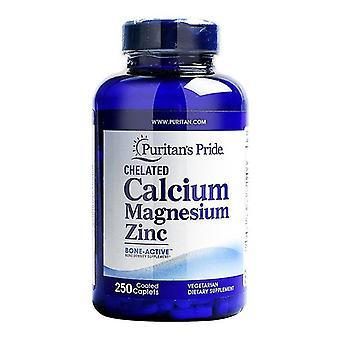 250錠カルシウムマグネシウム亜鉛 - 栄養補助食品